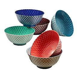 Certified International Petals All Purpose Bowls (Set of 6)