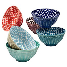 Certified International Oxford All Purpose Bowls (Set of 6)