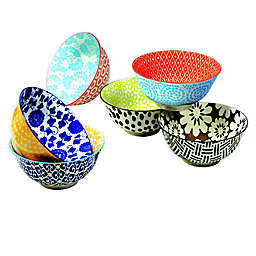 Certified International Chelsea Mix and Match 6.25-Inch All Purpose Bowls (Set of 6)