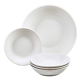 Certified International Bianca 5-Piece Pasta Bowl Set