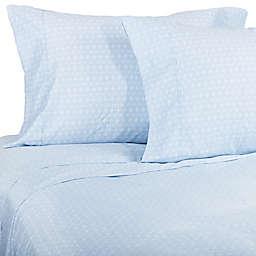 Heartland® HomeGrown™ 400-Thread-Count Cross Geo Pillowcases (Set of 2)