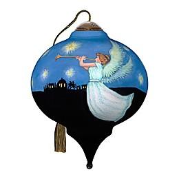 Ne'Qwa Art® Joyful and Triumphant Angel 3-Inch Hand-Painted Ornament