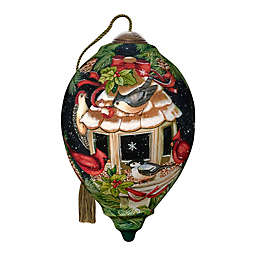 Ne'Qwa Art® Cardinal Feathered Friends 5.5-Inch Hand-Painted Ornament