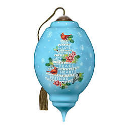 Ne'Qwa Art® Peace in Our Hearts Cardinal 5.5-Inch Hand-Painted Ornament