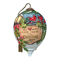 Ne'Qwa Art® Hearts Come Home 3-Inch Hand-Painted Ornament
