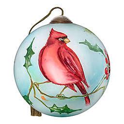 Ne'Qwa Art® Spirit of Faith Cardinal 2.5-Inch Hand-Painted Ornament