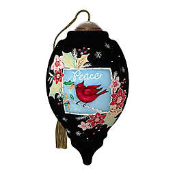 Ne'Qwa Art® Peace Cardinal 3-Inch Hand-Painted Ornament
