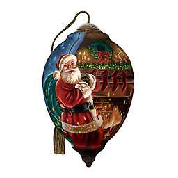 Ne'Qwa Art® Limited Editon Night Before Christmas Hand-Painted Ornament