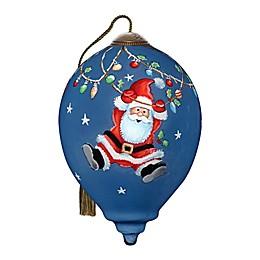 Ne'Qwa Art® Hanging Around at Christmas 3-Inch Hand-Painted Ornament