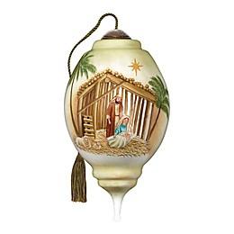 Ne'Qwa Art® Joy To The World Nativity 5.5-Inch Hand-Painted Ornament