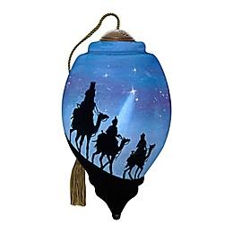 Ne'Qwa Art® We Three Kings Wise Men 3-Inch Hand-Painted Ornament