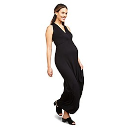 Motherhood Maternity® Surplice Wrap Maternity Maxi Dress