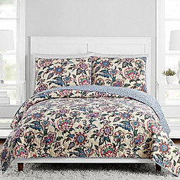 Vera Bradley® Stitched Flowers Bedding Collection