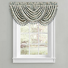J. Queen New York™ Versailles Waterfall Valance in Spa
