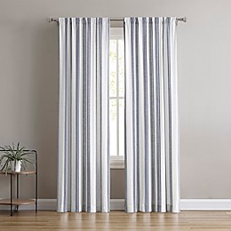 Flannery Rod Pocket Light Filtering Window Curtain Panel Pair
