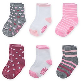 Capelli New York 6-Pack Hearts and Stars Socks