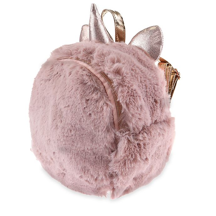 Alternate image 1 for Capelli New York Mini Faux Fur Backpack in Blush