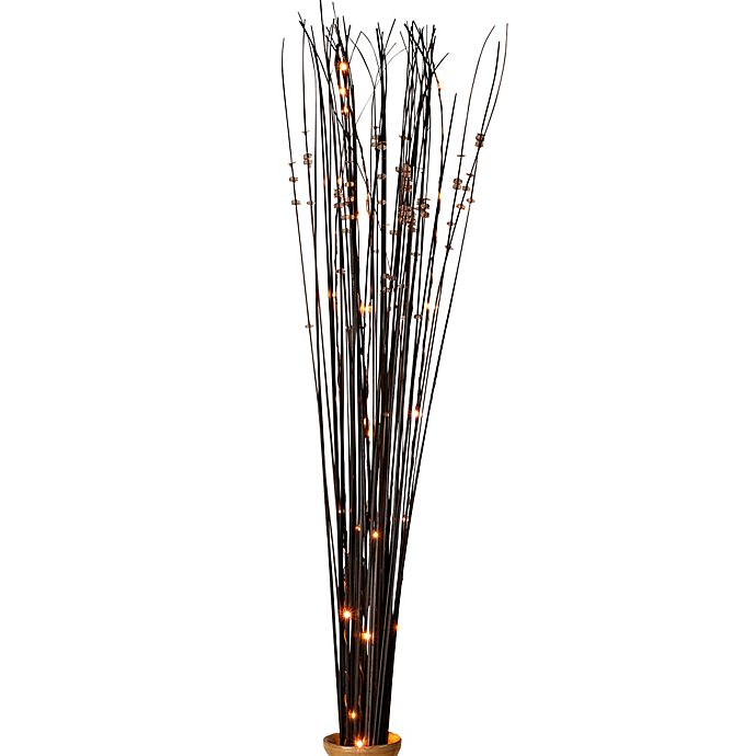 39 Inch Battery Operated Brown Ting Led Lighted Branches