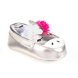 Stepping Stones Unicorn Slip-On Sneaker in Silver