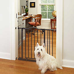 MyPet Windsor Arch 28.5-Inch Pet Gate in Bronze