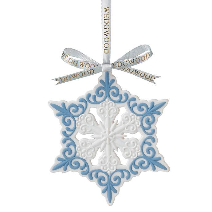 Alternate image 1 for Wedgwood® Pierced Snowflake Ornament