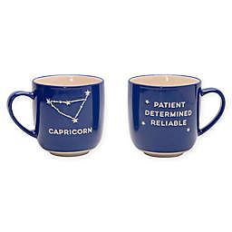 Formations Capricorn Zodiac Mug in Blue