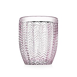 Godinger® Twill Double Old Fashioned Glasses in Pink (Set of 4)
