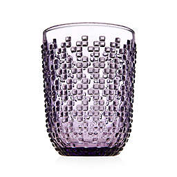 Godinger® Alba Double Old Fashioned Glasses in Purple (Set of 4)