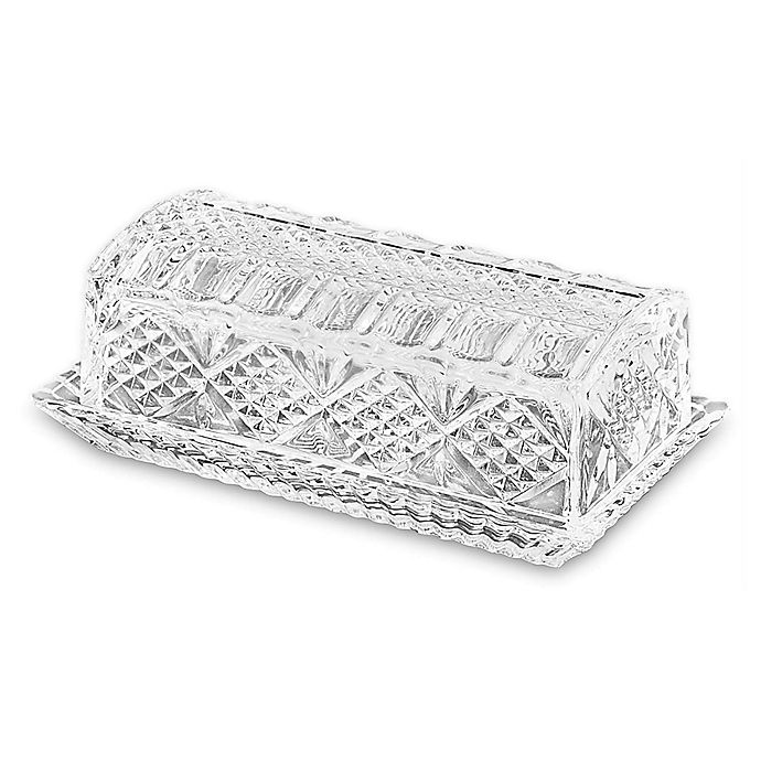 Alternate image 1 for Bezrat Antique Covered Butter Dish