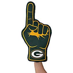 NFL Green Bay Packers Foam Finger Throw Pillow