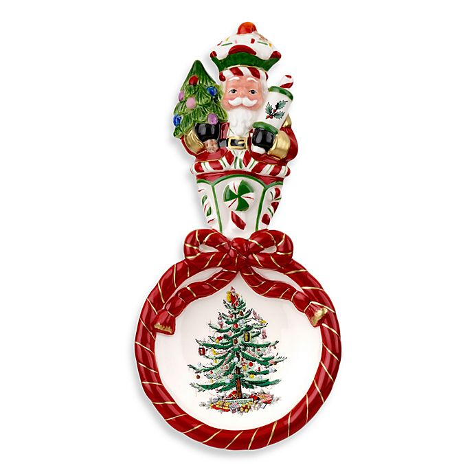Spode Christmas Tree China Sale: Spode® Christmas Tree Peppermint Nutcracker Spoon Rest