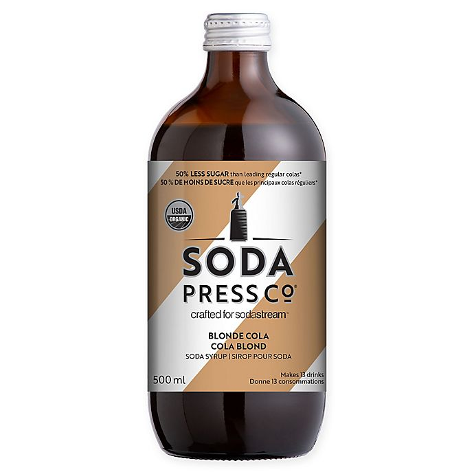 Alternate image 1 for SodaStream® Soda Press Blonde Cola Drink Mix