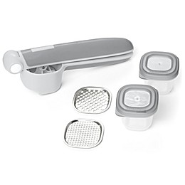 SKIP*HOP® 5-Piece Easy-Prep Food Press Set in Grey
