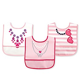 Luvable Friends® 3-Pack Pocket Bib Set