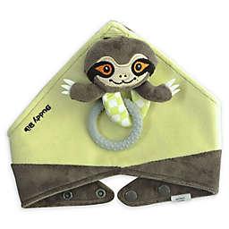 Munch Baby 3-in-1 Sensory Teething Sloth Buddy Bib