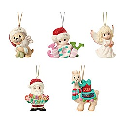 Precious Moments® Hand-Painted Christmas Ornament Collection