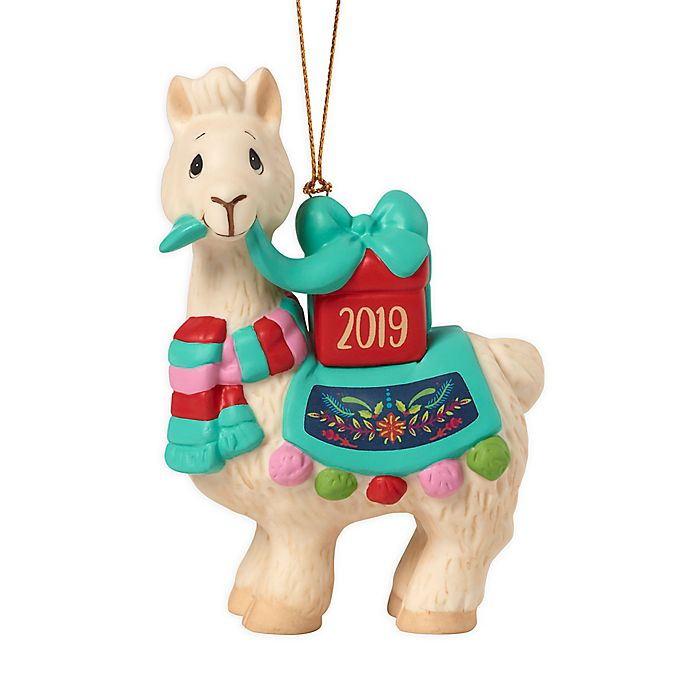Precious Moments® Dated 2019 Llama 3.5-Inch Hand-Painted ...