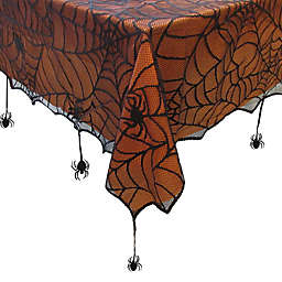 Crawling Halloween Spiderweb Table Linen Collection