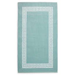 Wamsutta® Greek Key Beach Towel in Aqua