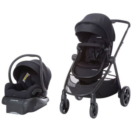 Maxi-Cosi Zelia 5-in-1 Modular Travel System in Emerald Tide