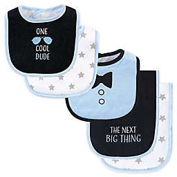 Hudson Baby® 5-Piece Cool Dude Bib and Burp Cloth Set