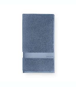 Calvin Klein® Tracy Toalla de medio baño en azul desteñido