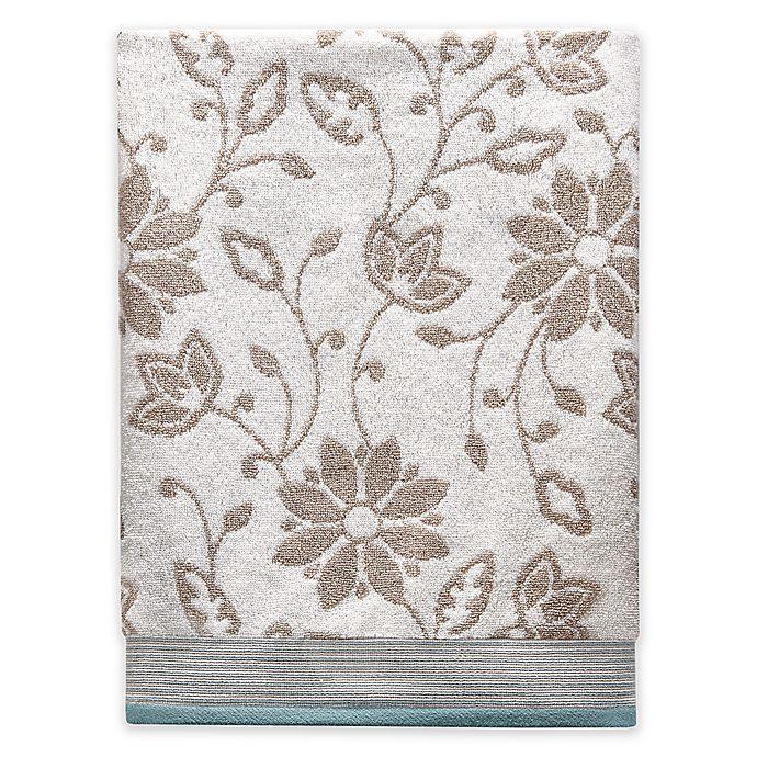 Alternate image 1 for Isabel Bath Towel in Ivory