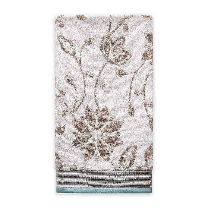 Alternate image 1 for Isabel Hand Towel in Ivory