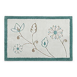 "Isabel 20"" x 30"" Bath Rug in Ivory"