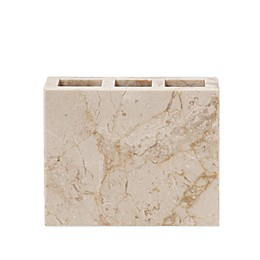 Half Dome Marble Toothbrush Holder in Natural