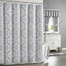 J. Queen New York™ Colette Shower Curtain in Blue