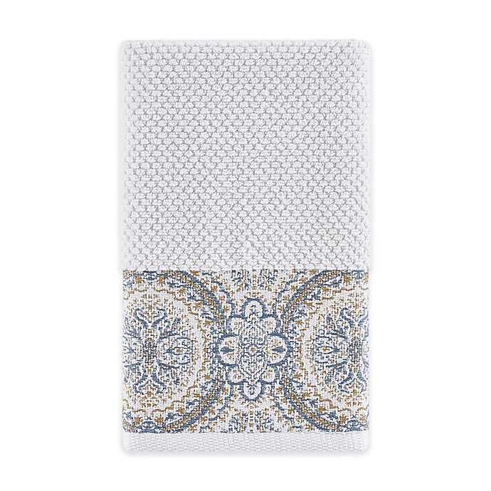 Alternate image 1 for J. Queen New York™ Colette Hand Towel in Blue