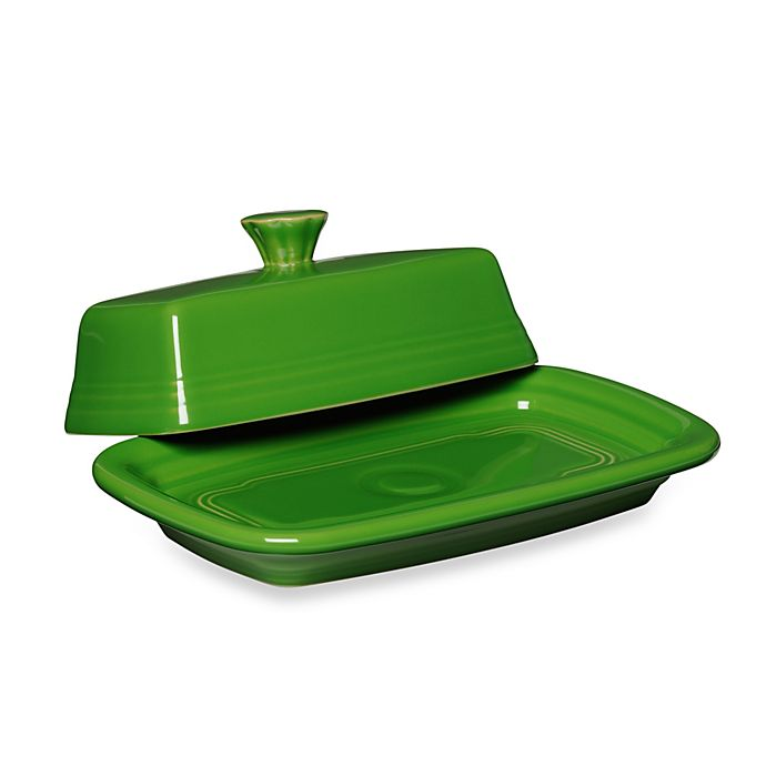 Alternate image 1 for Fiesta® Extra-Large Covered Butter Dish in Shamrock