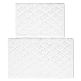 Vera Wang® Marquis Diamond Bath Rug Set